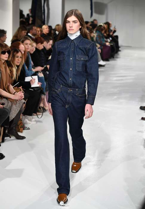 At Calvin Klein Designer Raf Simons Helps An American