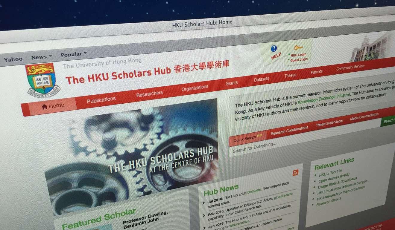 hku thesis temporary binding