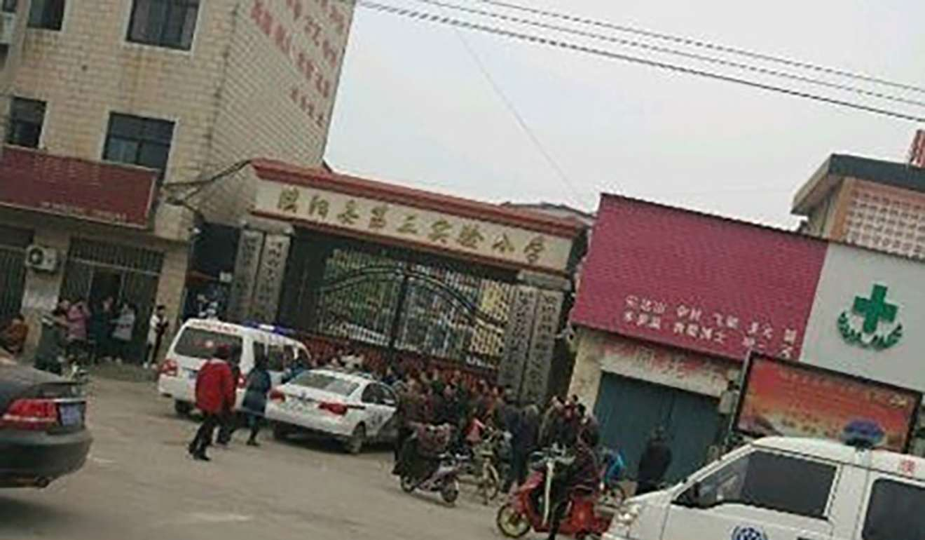 at least one child killed after stede at china school