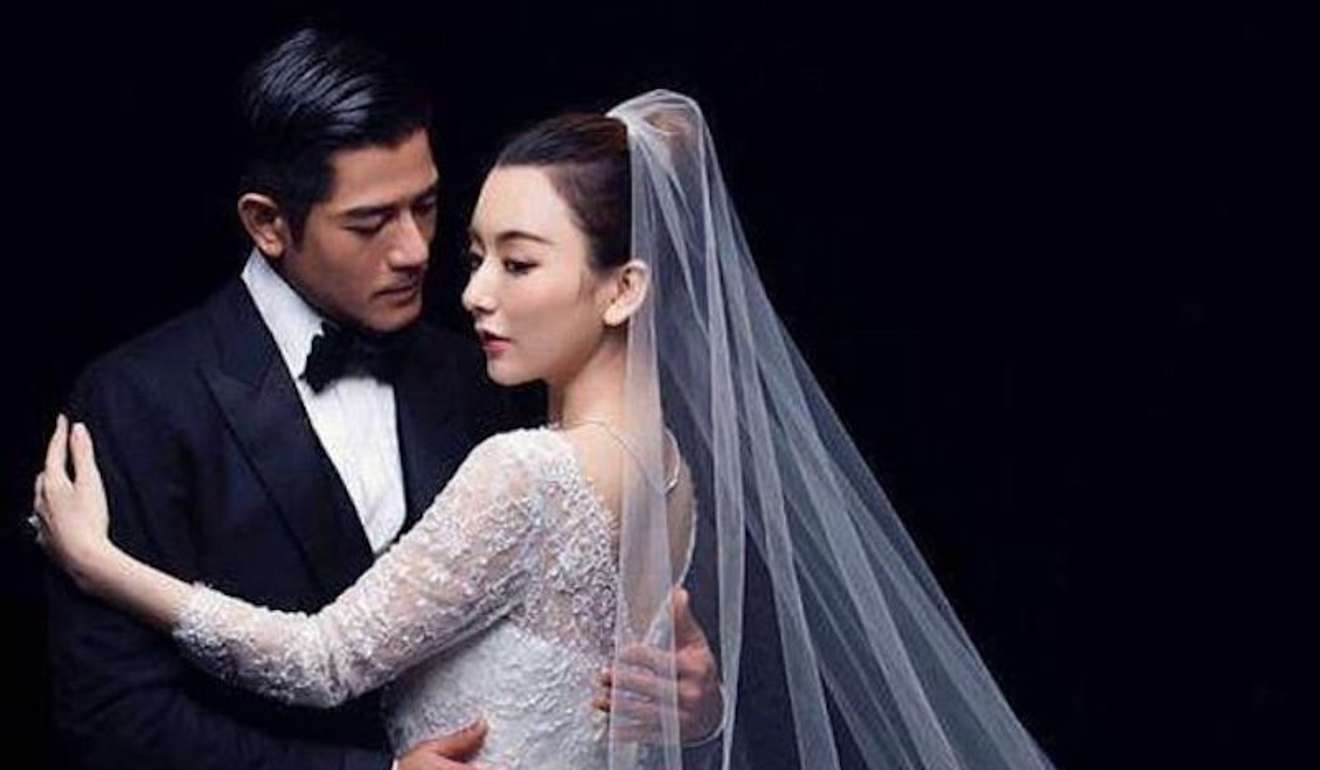 Aaron Kwok And His Bride Moka Fang Pose In A Pre Wedding Photo Shot By Acclaimed Photographer Wing Shya