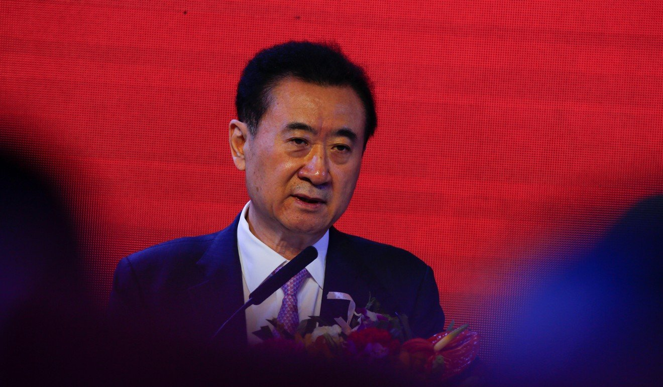 wang jianlin chairman of dalian wanda group lost the top spot as chinaus movie box office took a hit photo reuters