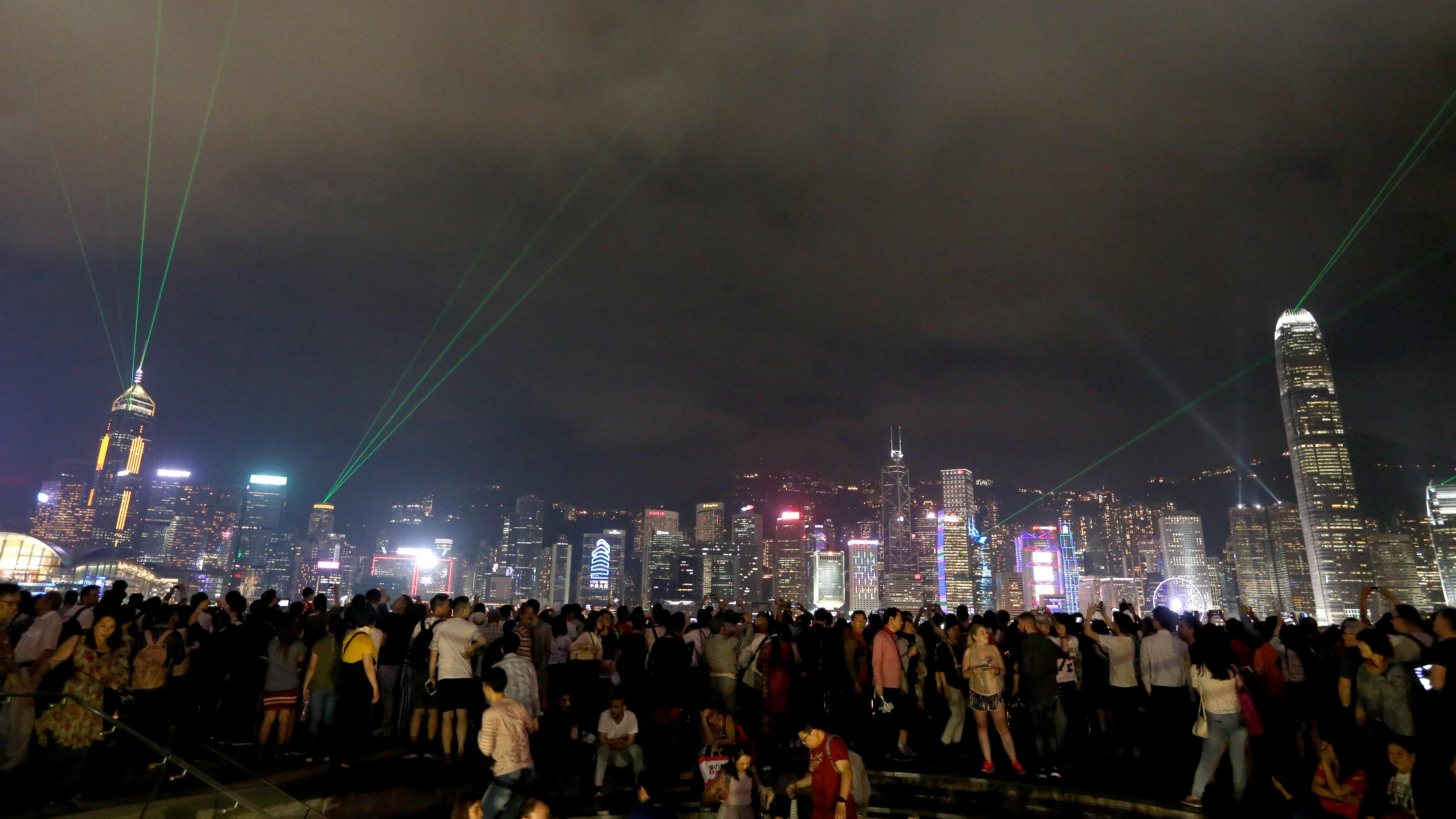 Lyon S Spectacular Festival Of Lights Gives Nod To Hong Kong