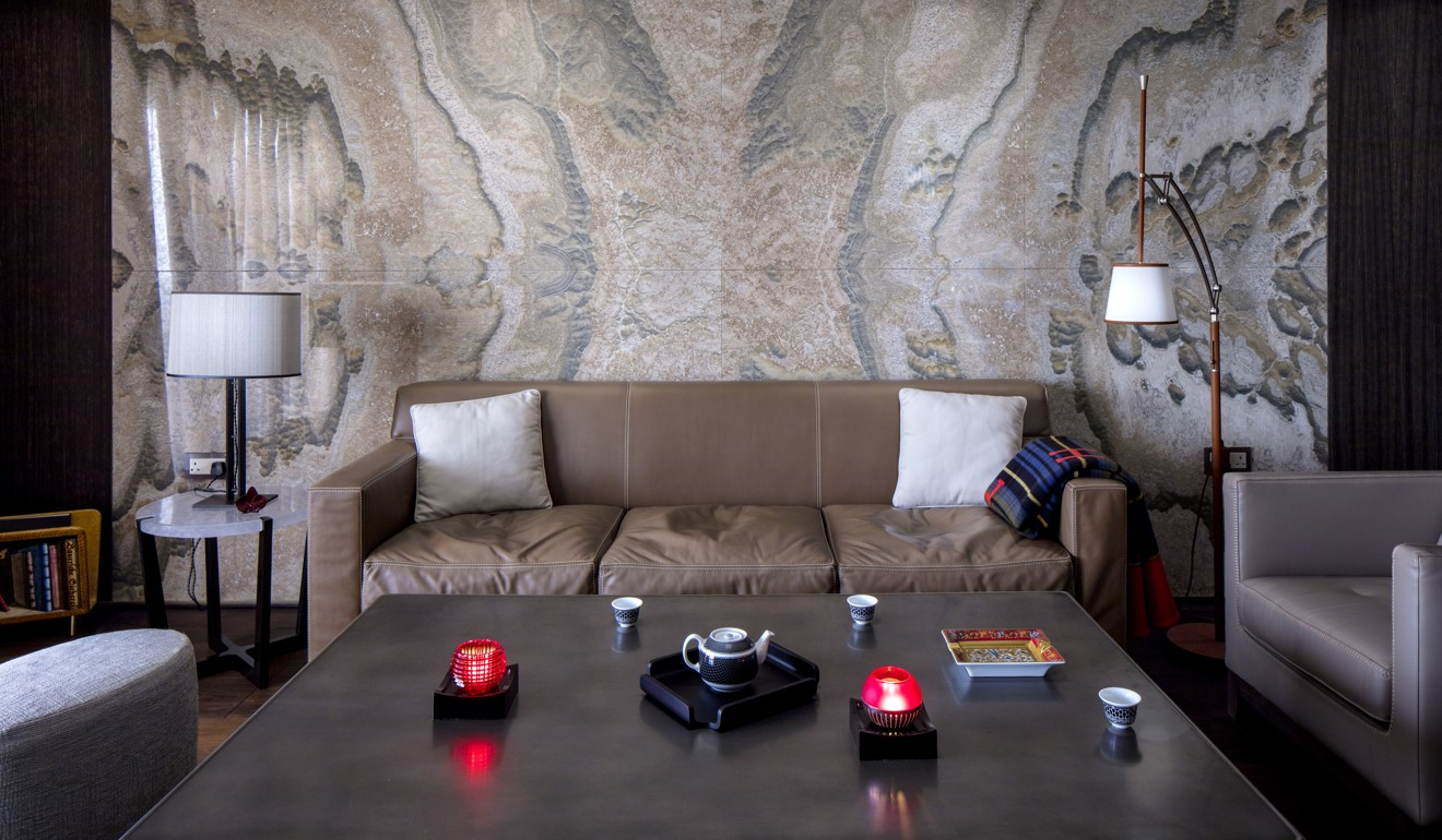 A Hong Kong Apartments Decadent Interior Hard Shell With Soft