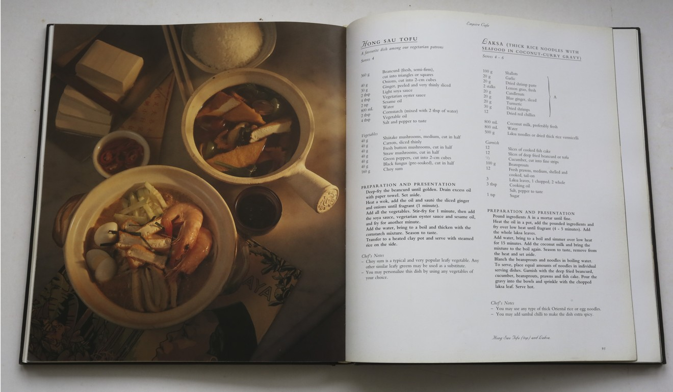 The raffles hotel cookbook delicious recipes served up with a the raffles hotel cookbook forumfinder Image collections