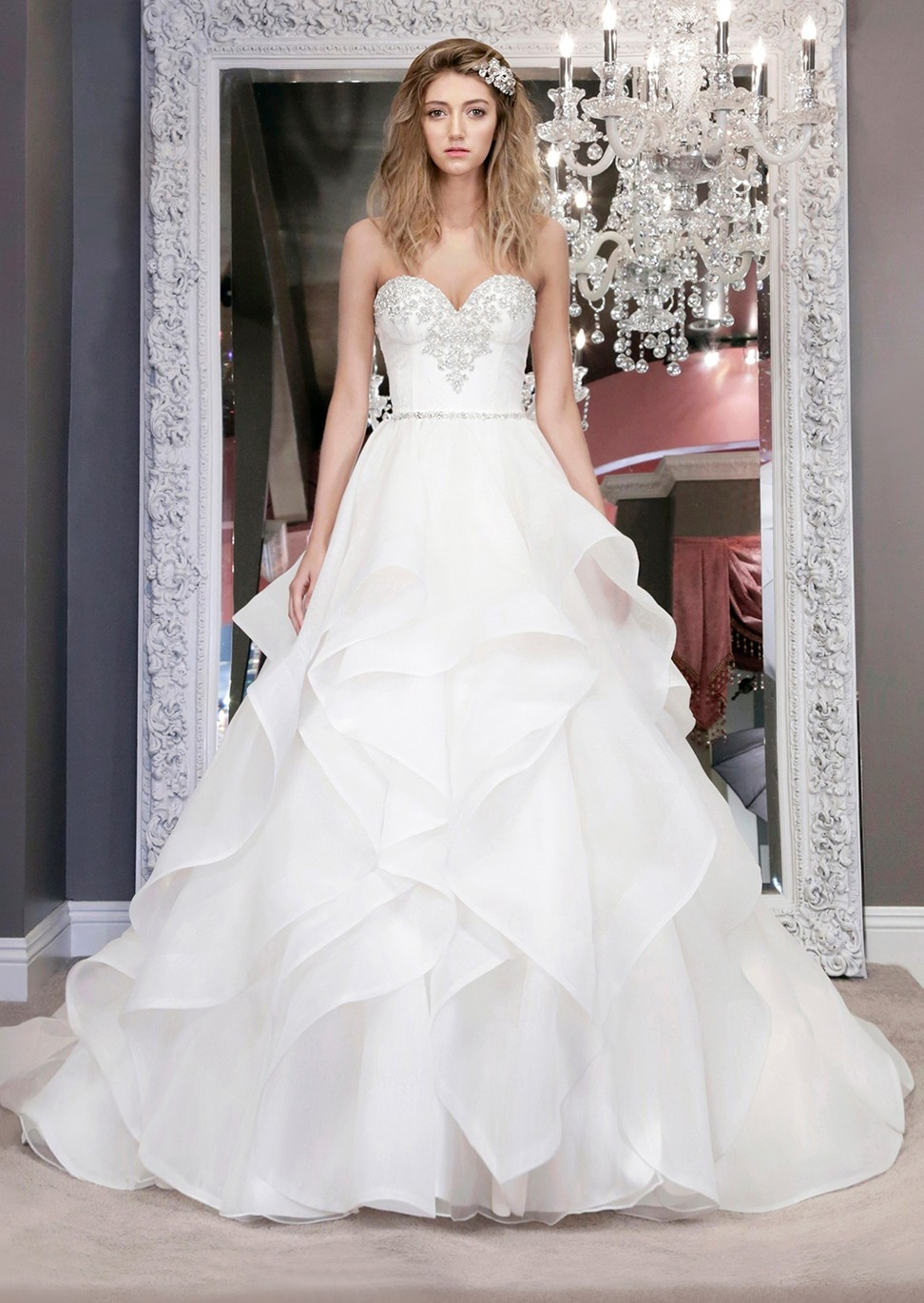 73638ad0dfc Why brides are choosing wedding gowns that offer two looks in one ...