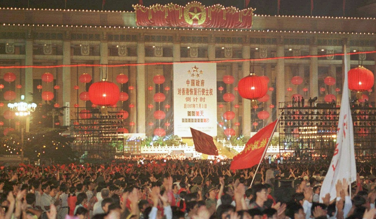 The status of hong kong after the handover