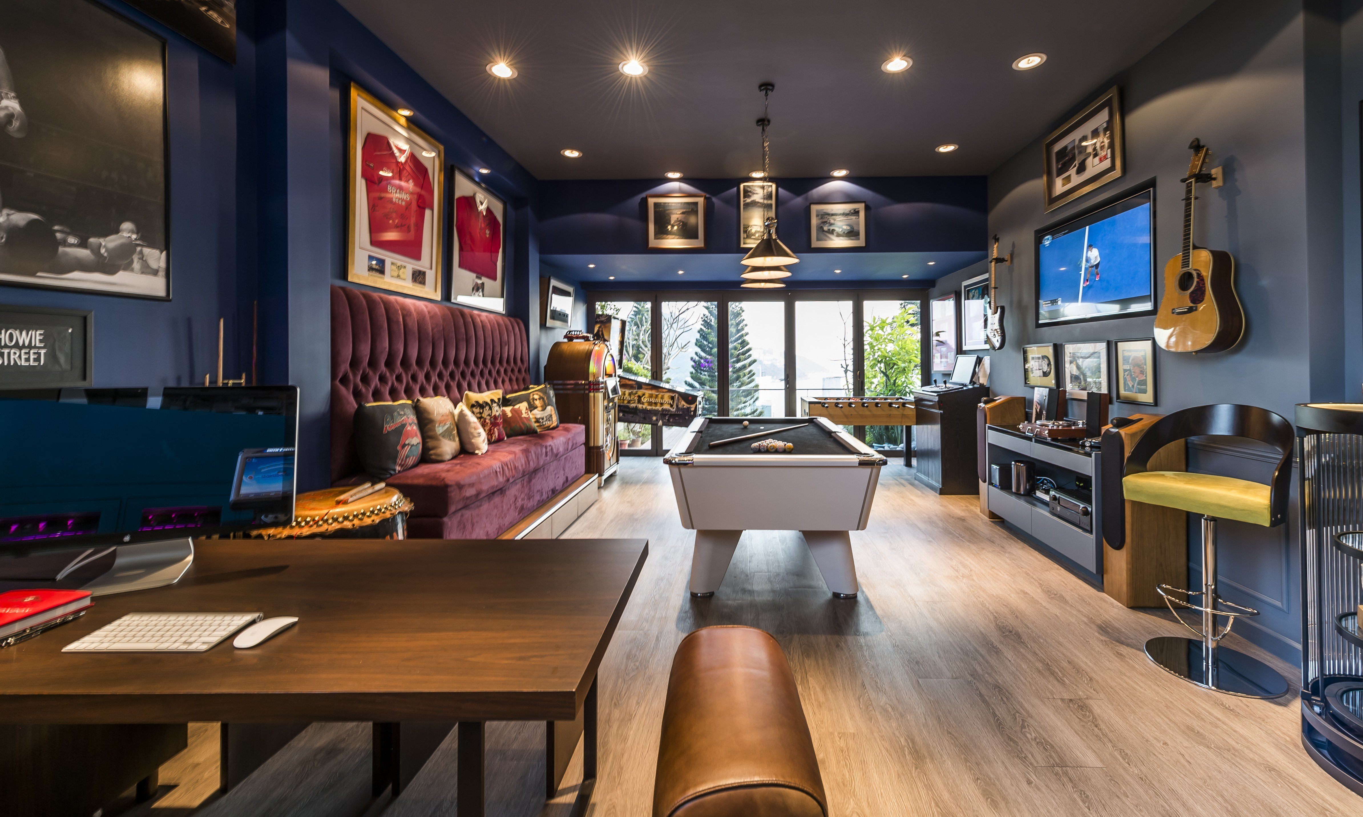 A Hong Kong House With An Enviable Games Room Post
