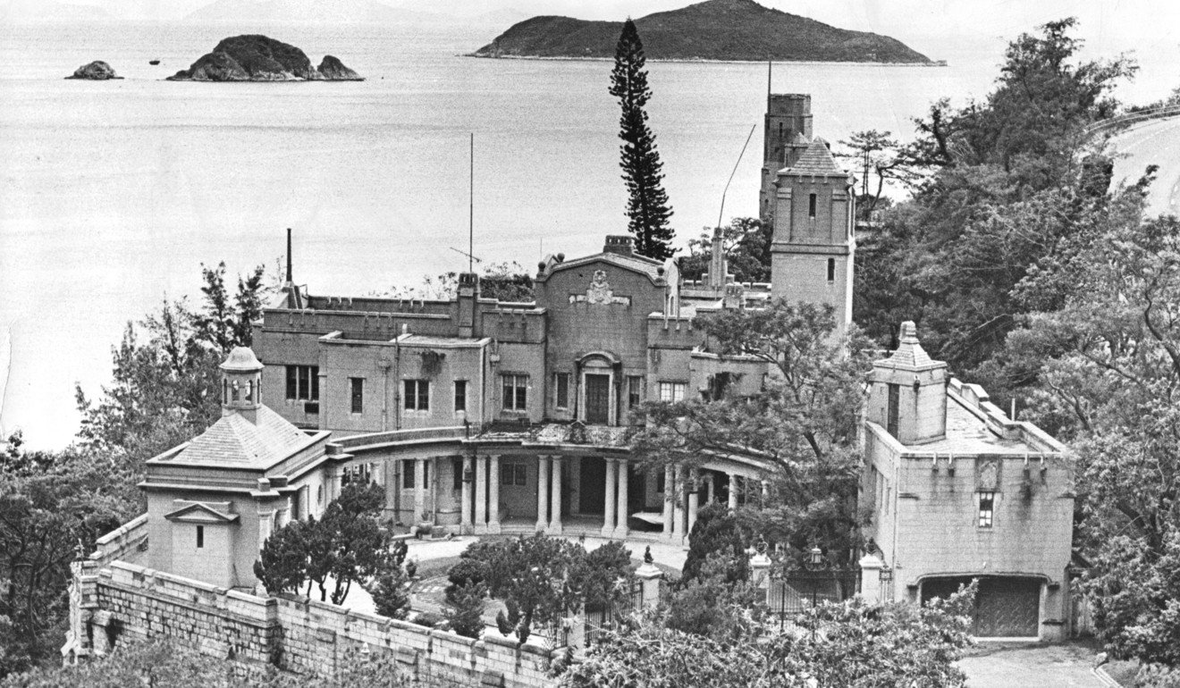 The Eucliff residence in Repulse Bay was owned by the Eu family. Photo: P. Y. Tang