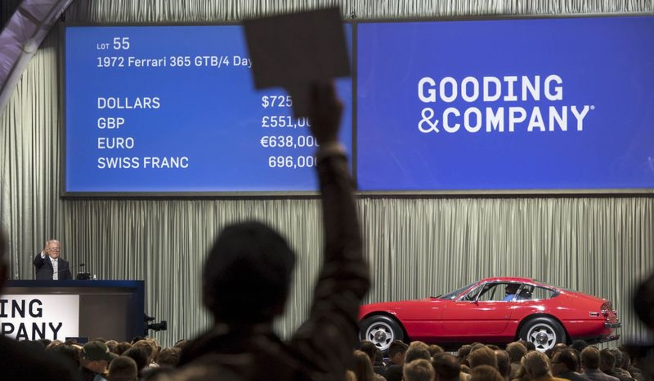 Aston Martin tops classic car auction list at US$20 million ...