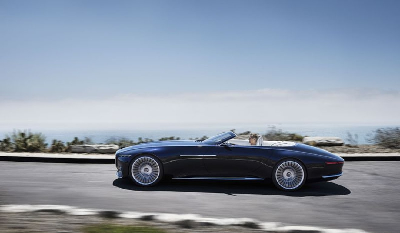 The New Mercedes Maybach Concept Is A 20 Foot Long Convertible