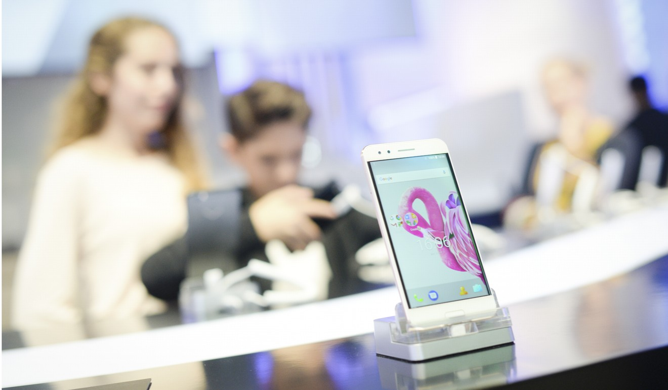 Phones from LG, BlackBerry, Alcatel and Sony were among those announced at IFA. Photo: Messe Berlin