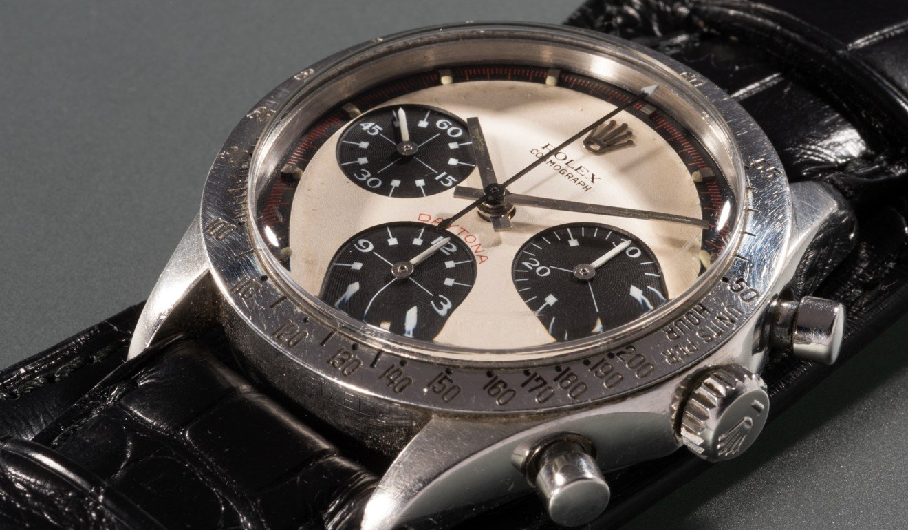 Paul Newman's Rolex Daytona smashes world record price at auction
