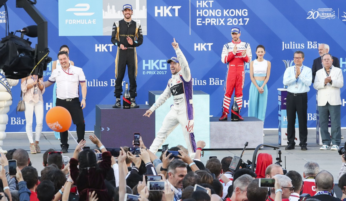 Welcome to Formula E: Sam Bird crashes into garage but still wins