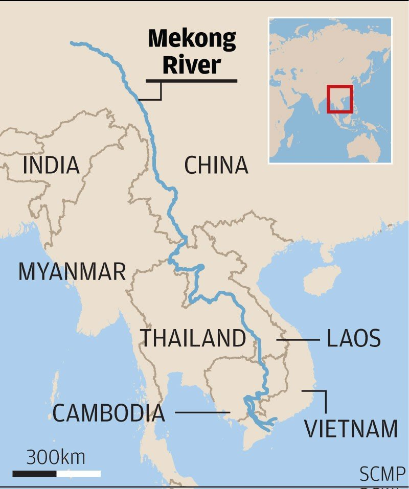 Xi River China Map.Five Things To Know About The Lancang Mekong Cooperation Summit