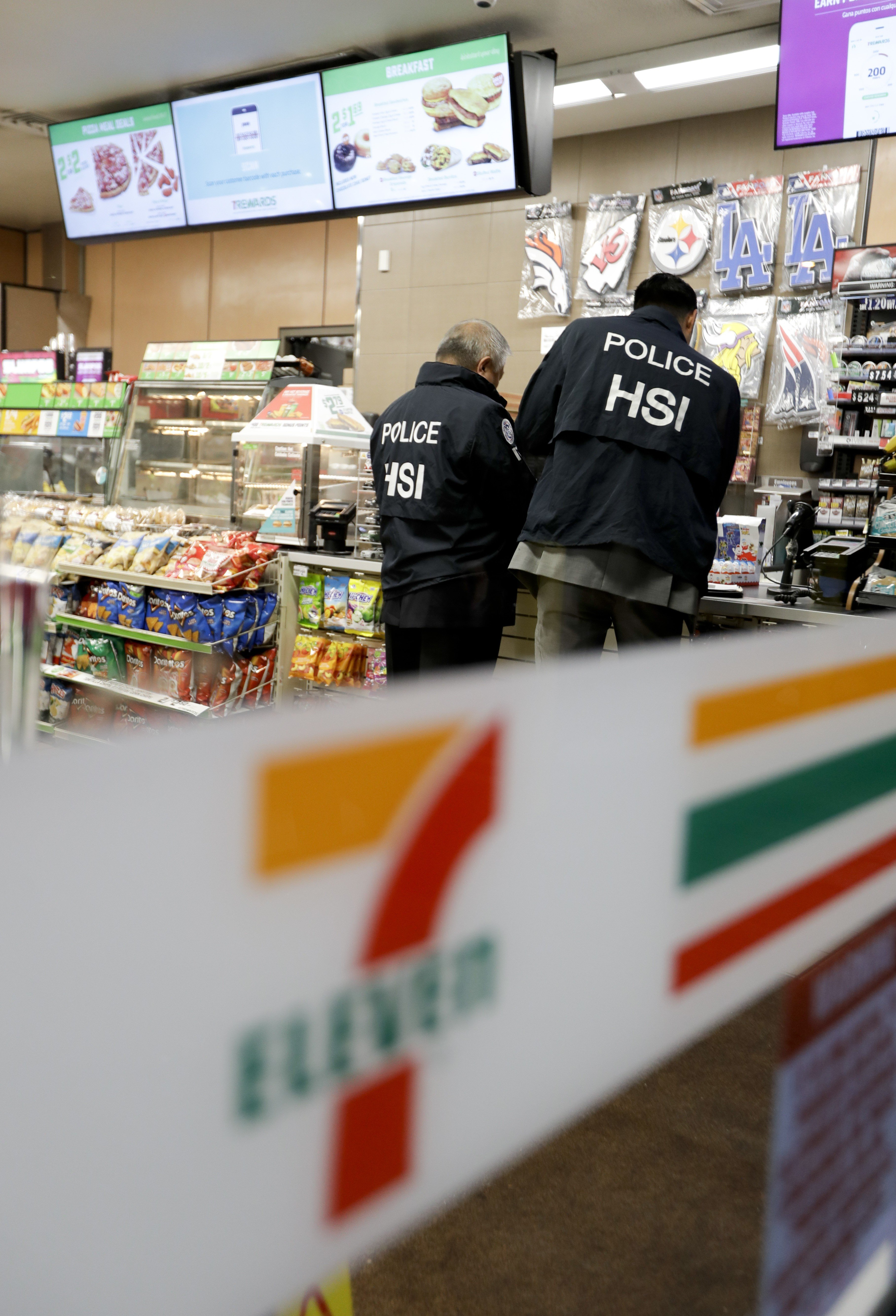 Agents raid 7-Eleven stores across America in immigration