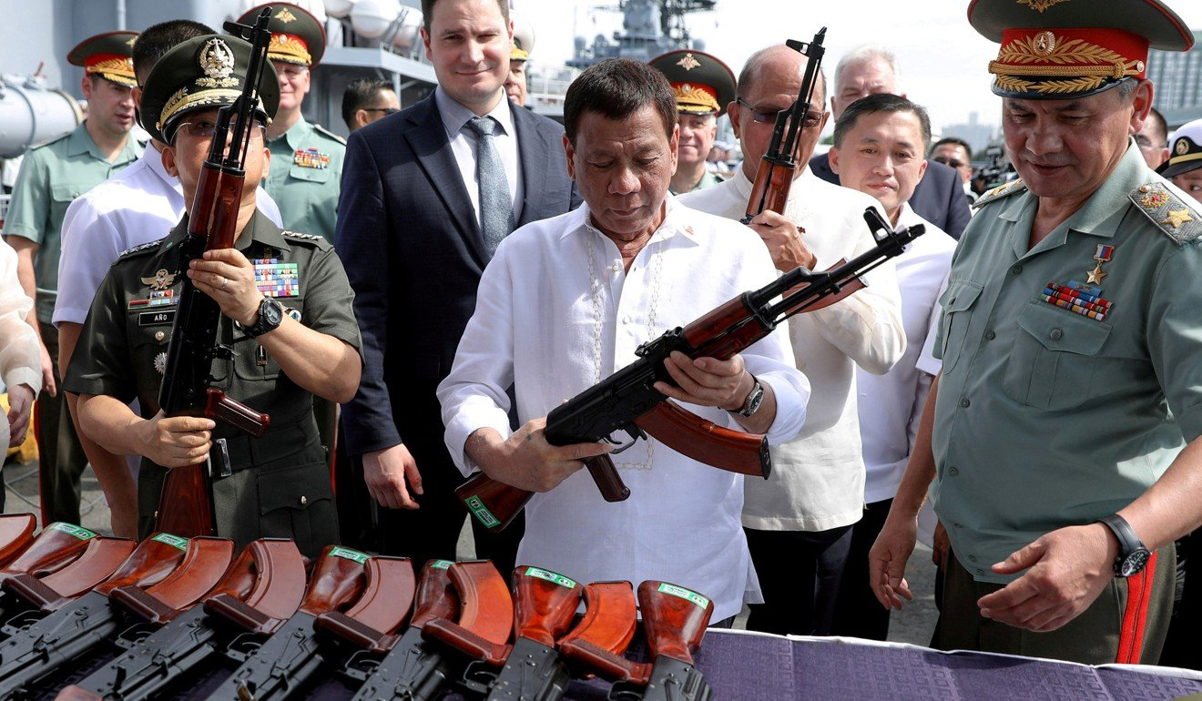 Trudeau firm as Duterte vows to end Canada, US arms deals ...