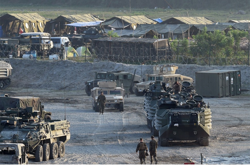Under a 1951 treaty, the Philippines and the United States must protect each other if attacked. Photo: AFP