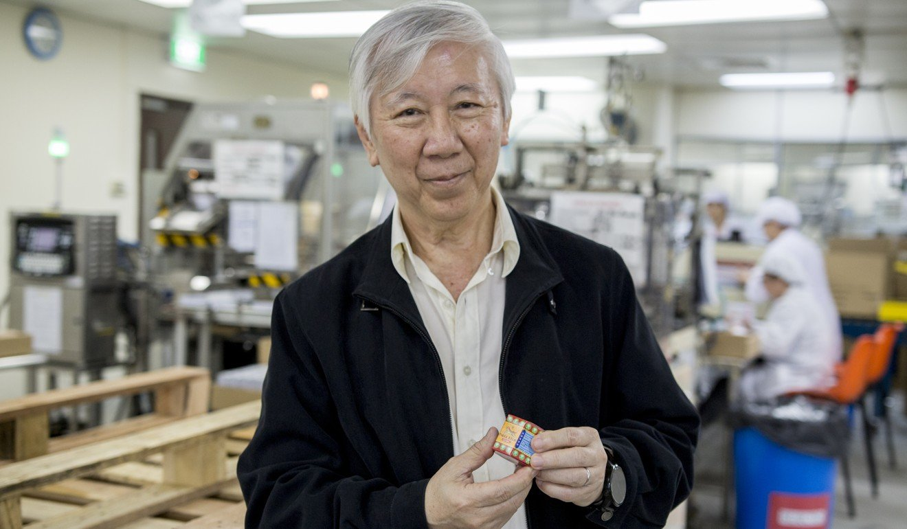 Han Ah Kuan, executive director of the Haw Par Corporation, inside the Tiger Balm factory in Singapore. Photo: Christopher DeWolf