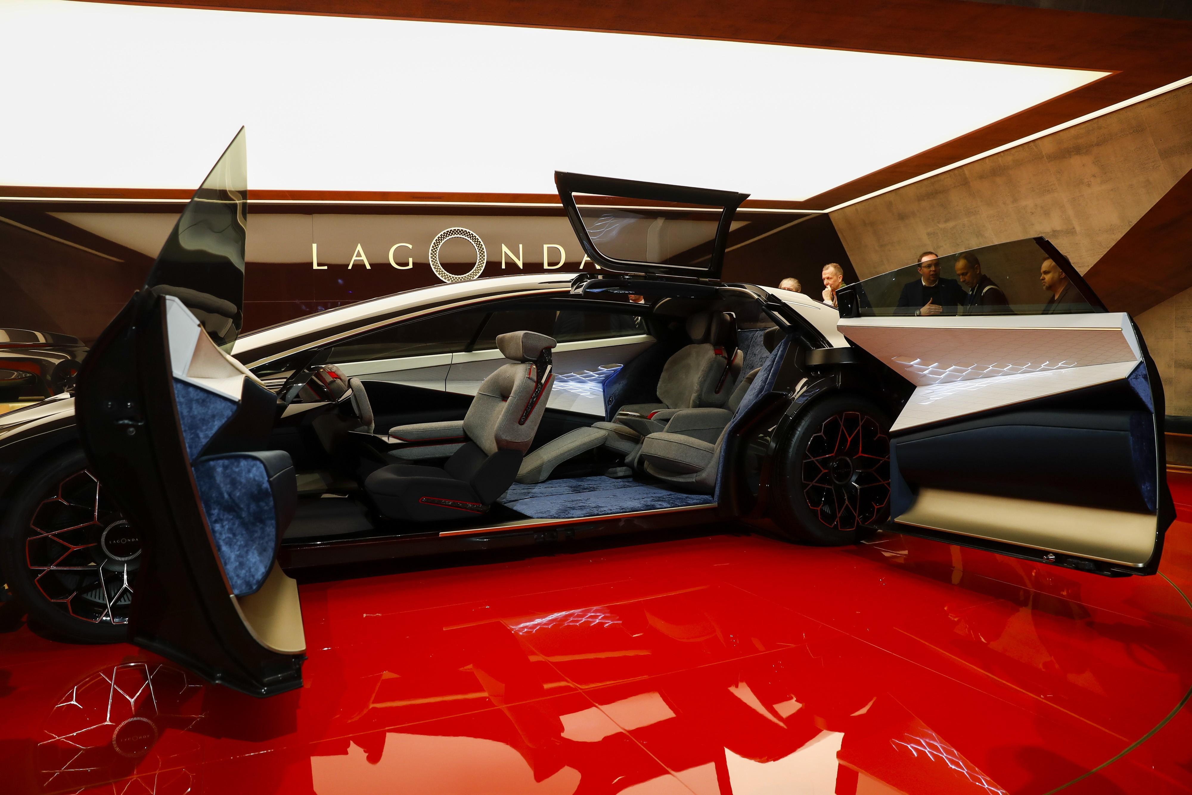 Aston Martin Revives Lagonda Luxury With An Electric Sedan Style