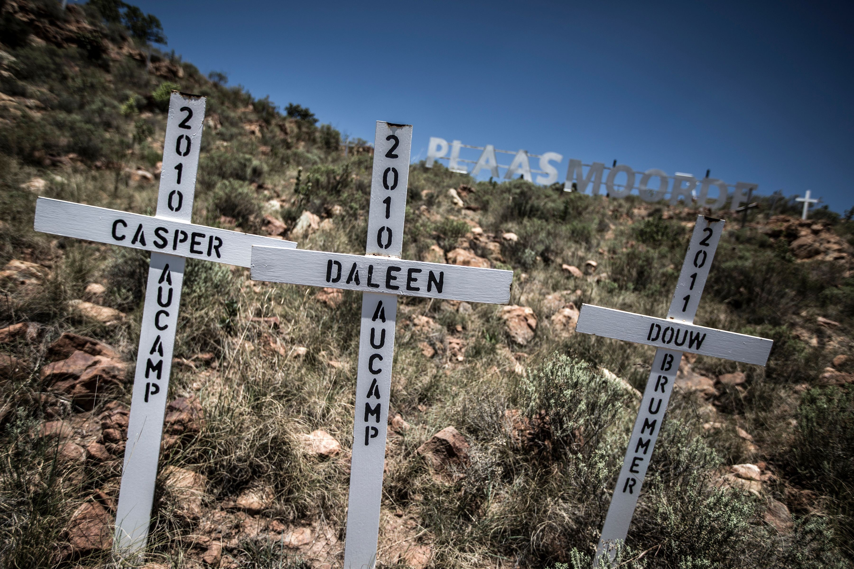 Murders of farmers in South Africa at 20-year low