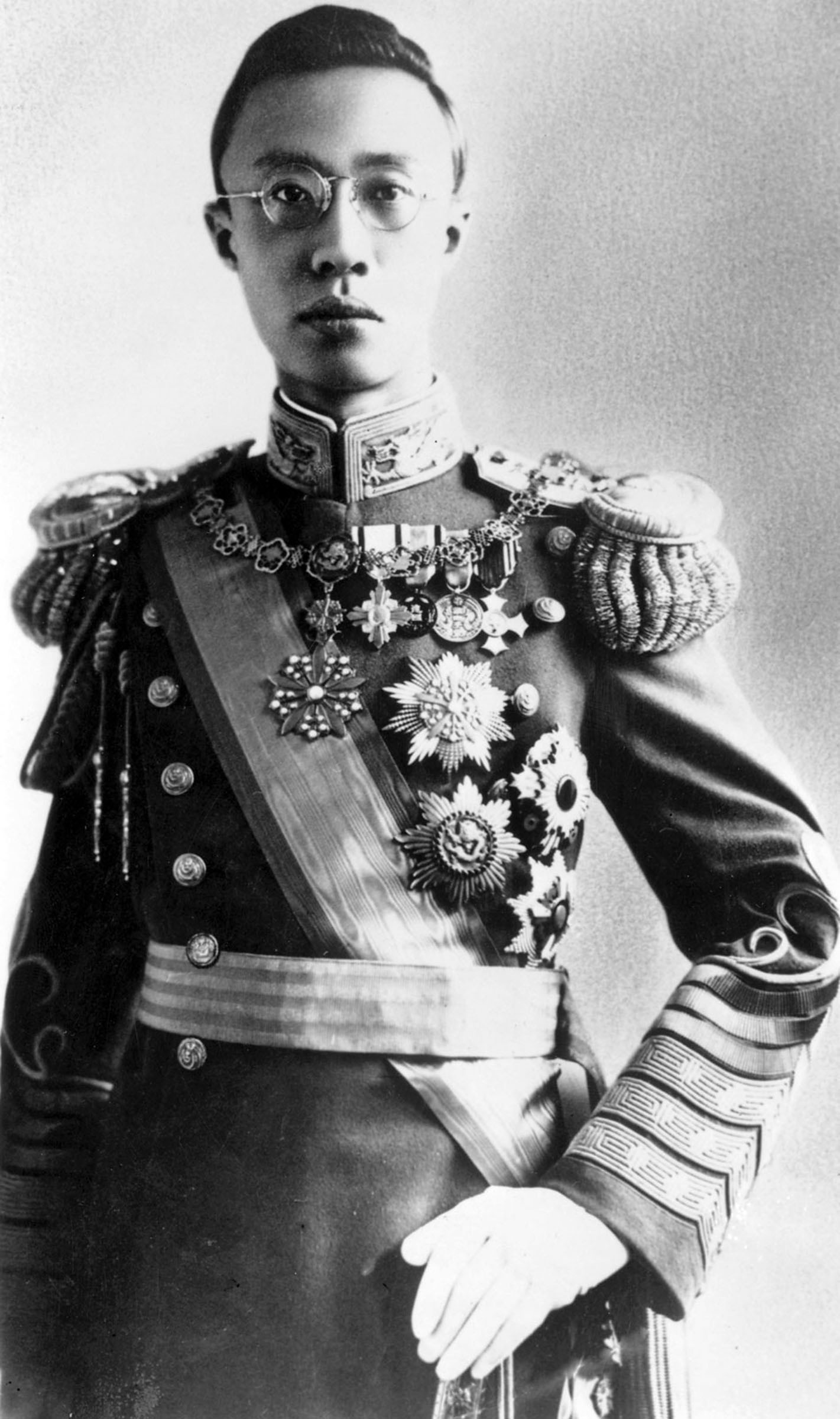 Emperor Pu Yi, who went from being a ruler to a citizen 14