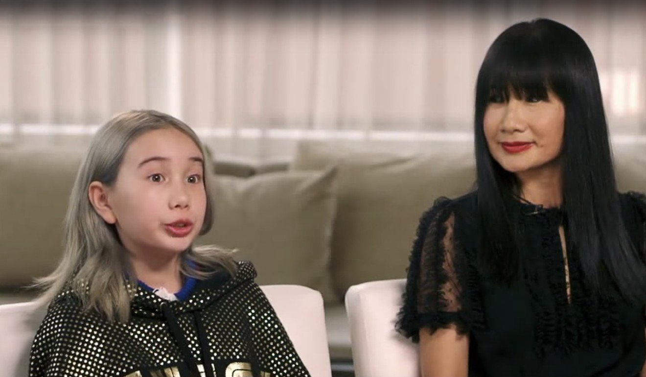 lil tay, viral asian child rapper, says no one's forcing her to post