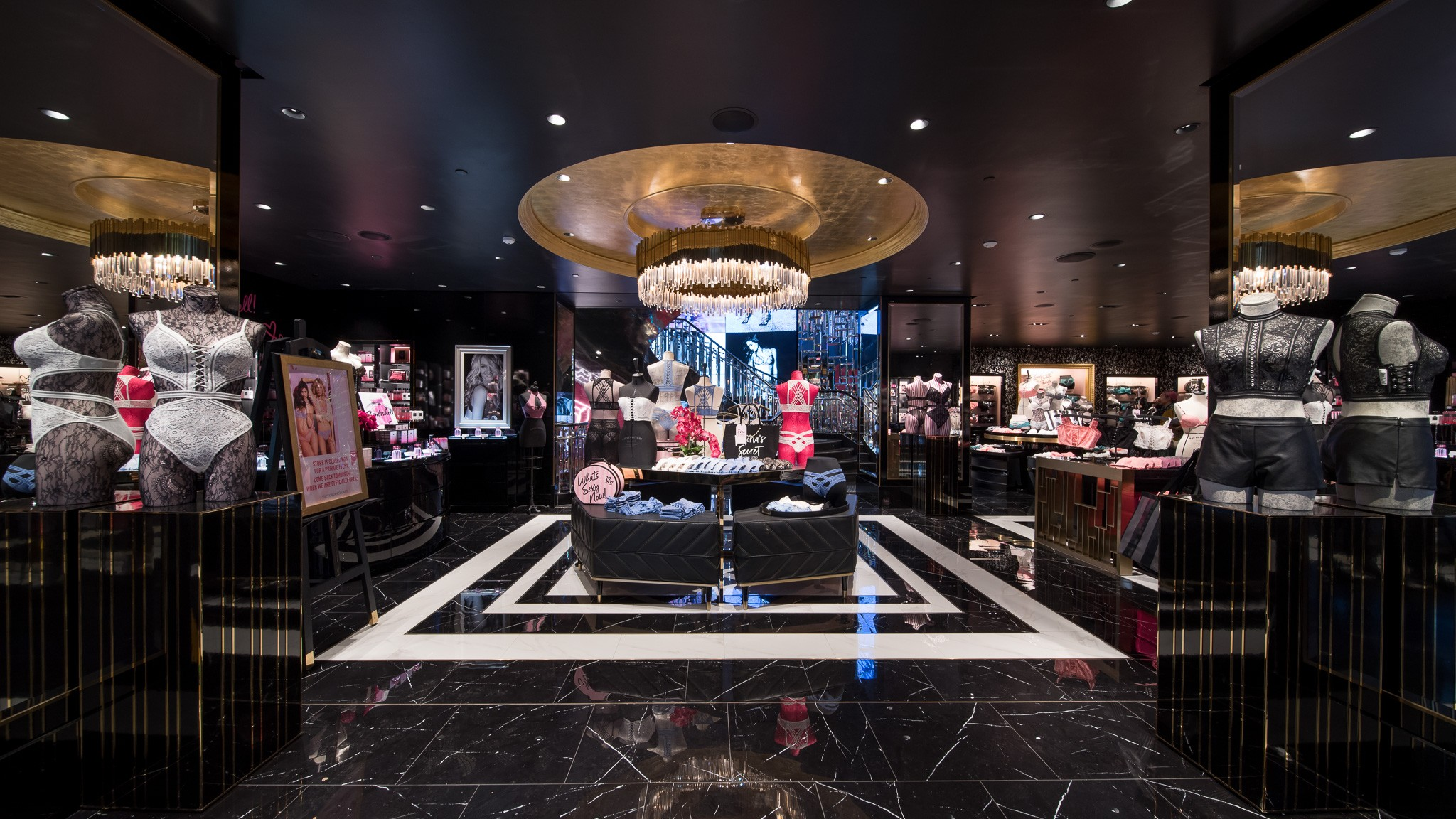 bb81609fef9e7 Victoria's Secret flagship store opens in Hong Kong | South China ...