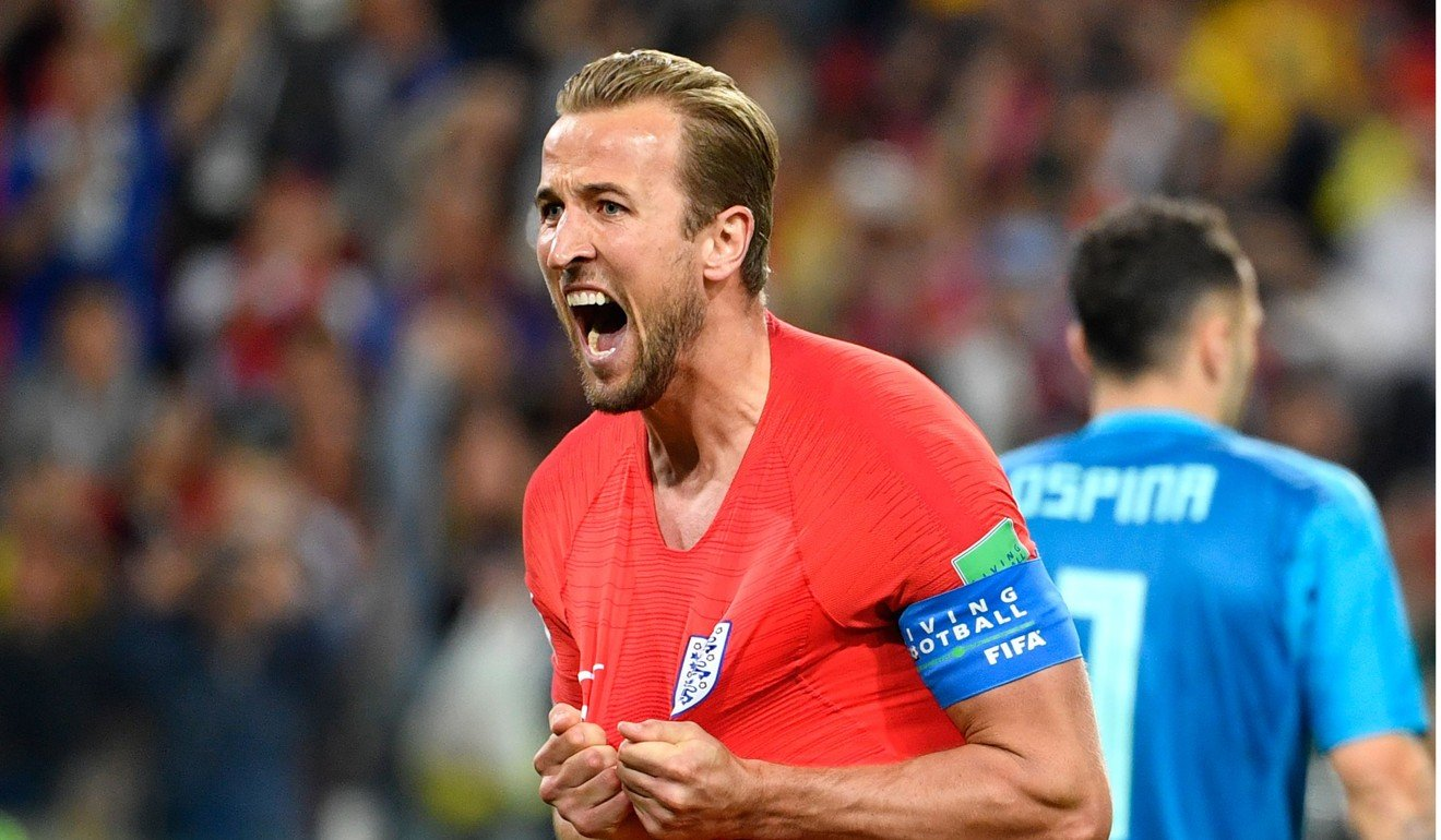 Harry Kane Five Pound Notes Are Circulating In The Uk And You Merengue Dance Steps Diagram Galleryhipcom Hippest Galleries Celebrates His Goal Against Colombia Photo Afp