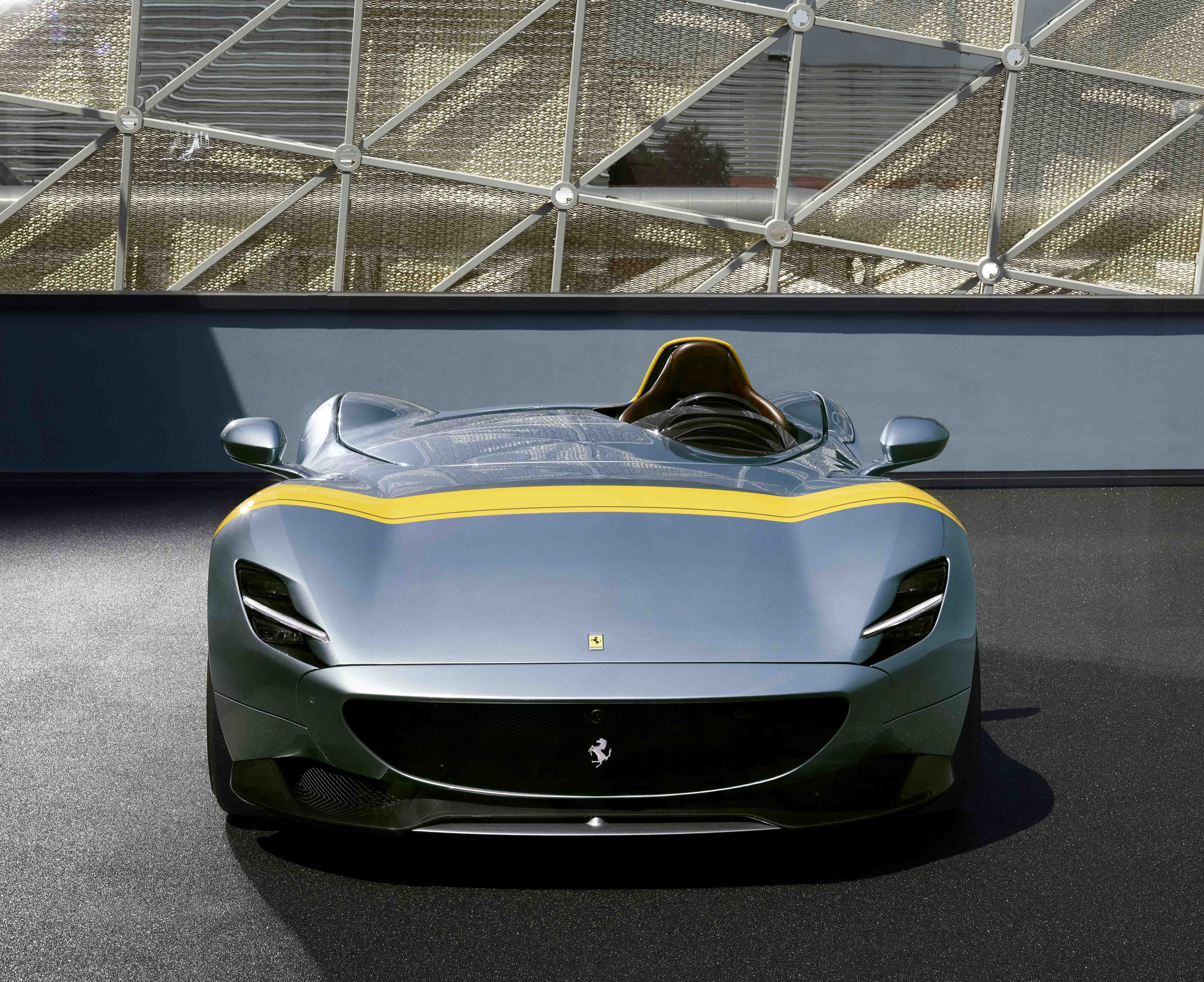 Ferrari S New Open Top Single Seat Monza Sp1 Which The Italian Luxury Carmaker Has Released As A Limited Edition Model Photo Xinhua
