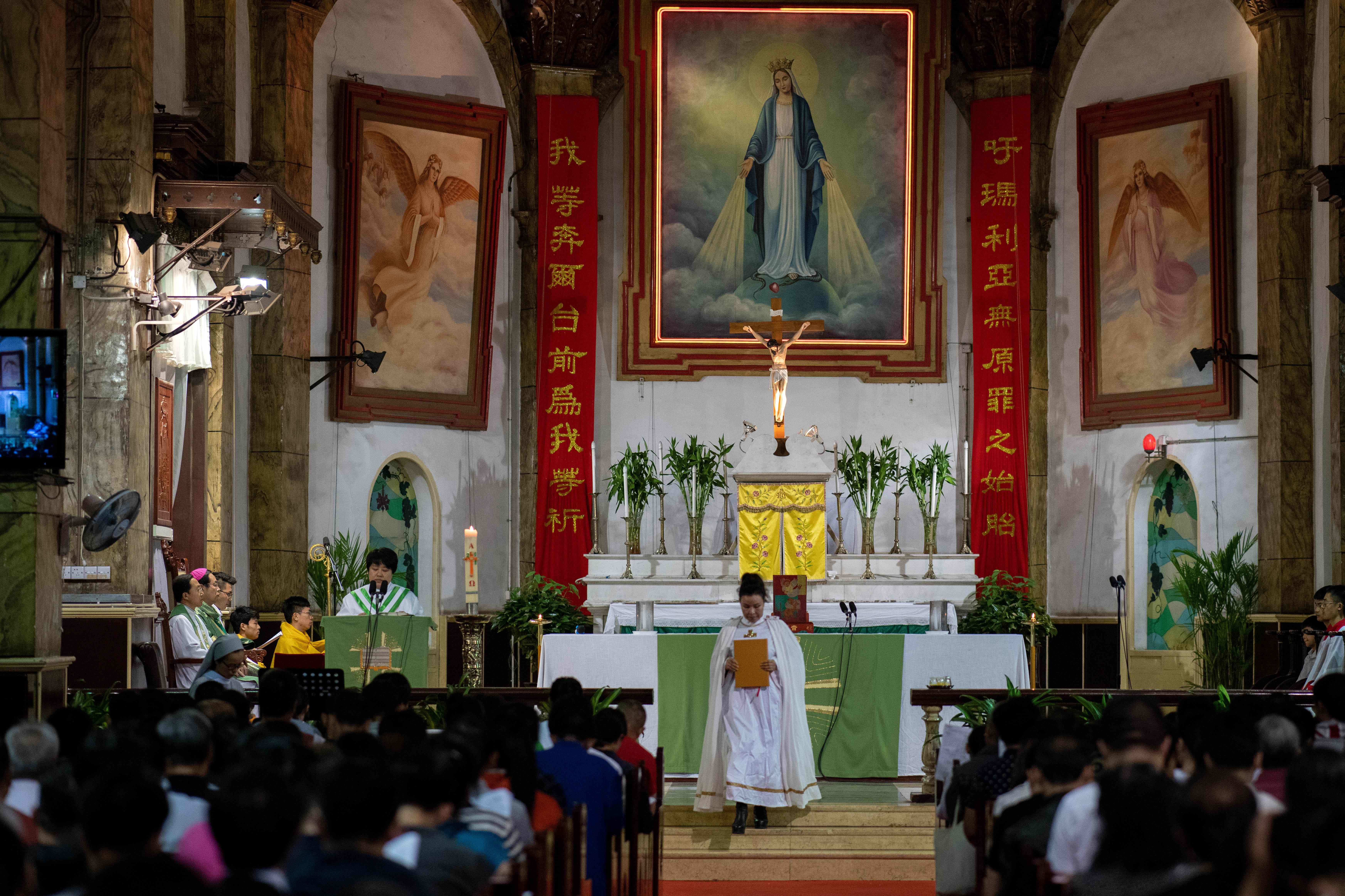 China's state-sanctioned Catholic Church vows to remain