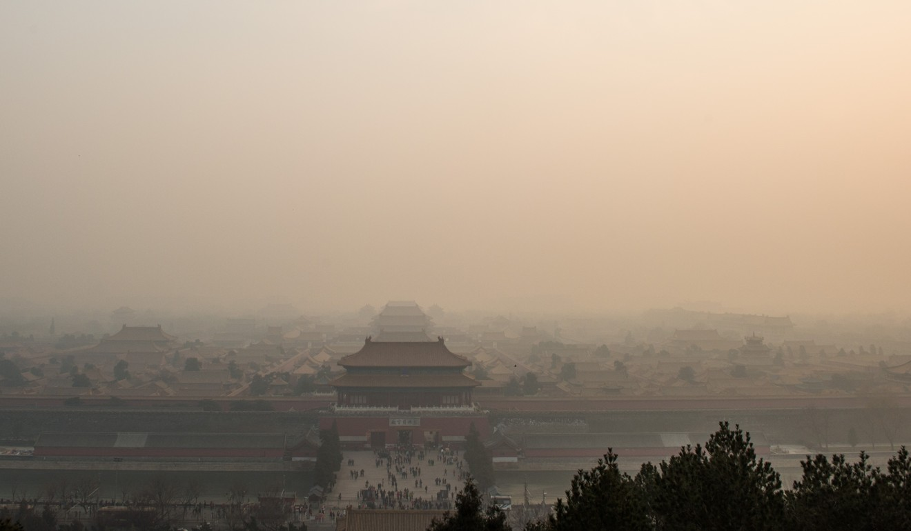 The composition of air pollution in Beijing is changing, according to the latest research into the subject. Photo: Xinhua