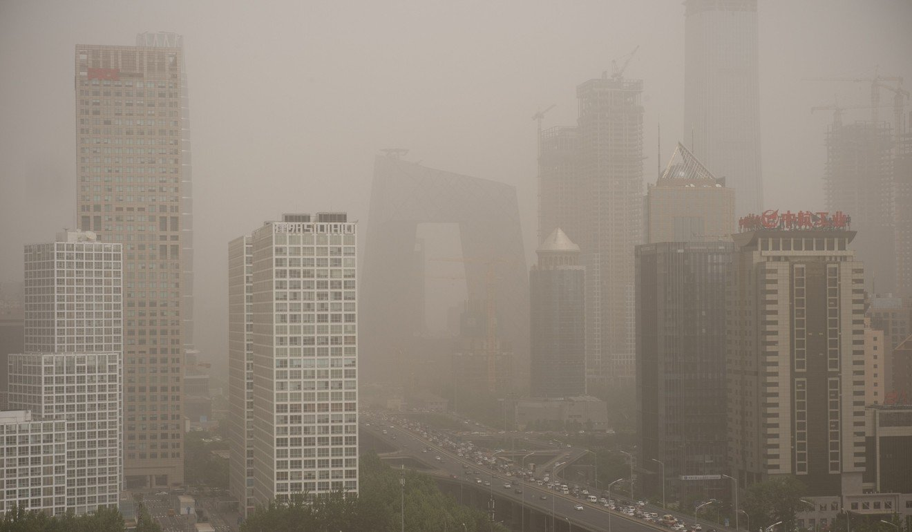 Air pollution levels in China remain dangerously high according to the World Health Organisation. Photo: AFP