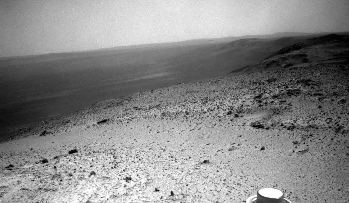 Opportunity rover in January 2015