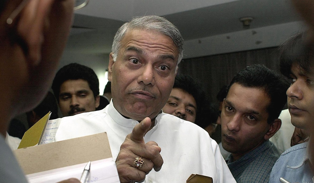 Former Indian foreign minister Yashwant Sinha, who recently quit Narendra Modi's ruling Bharatiya Janata Party. Photo: AFP