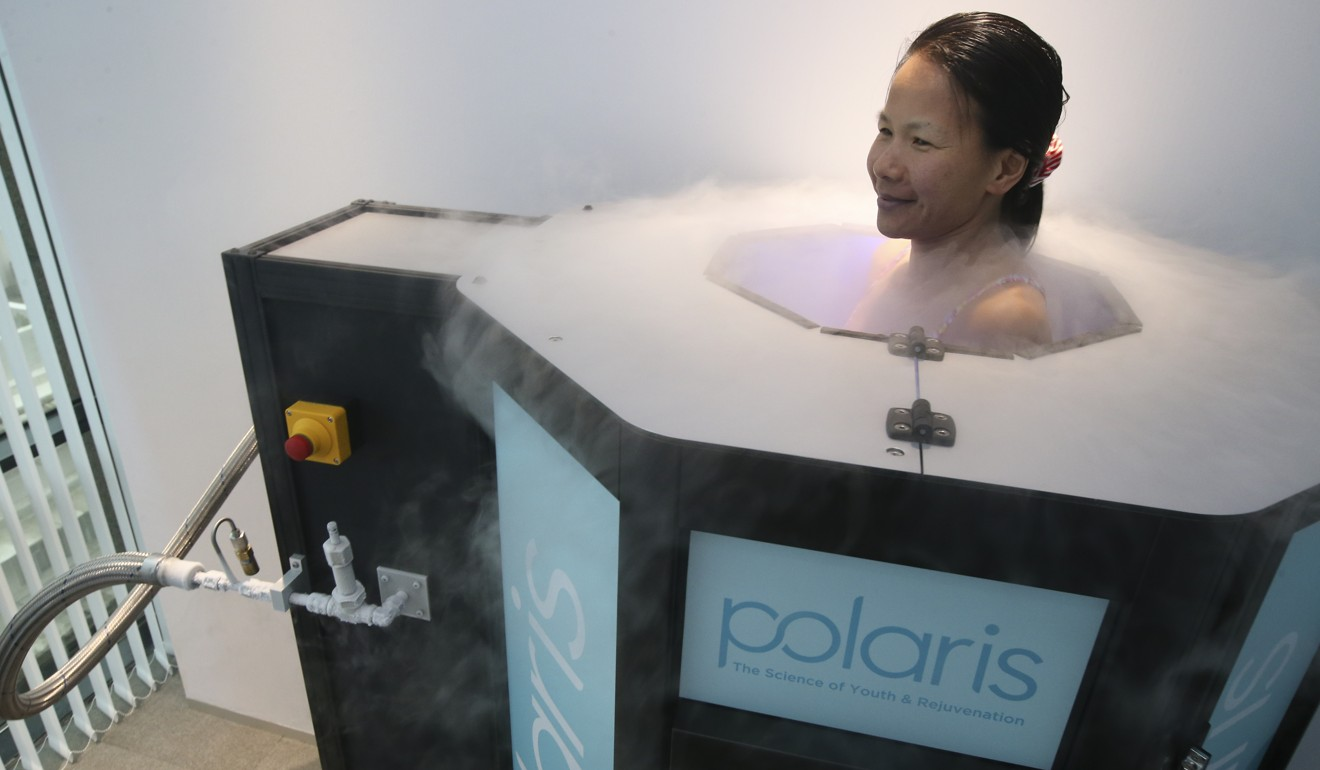 Cryotherapy: why are so many athletes turning to the ice