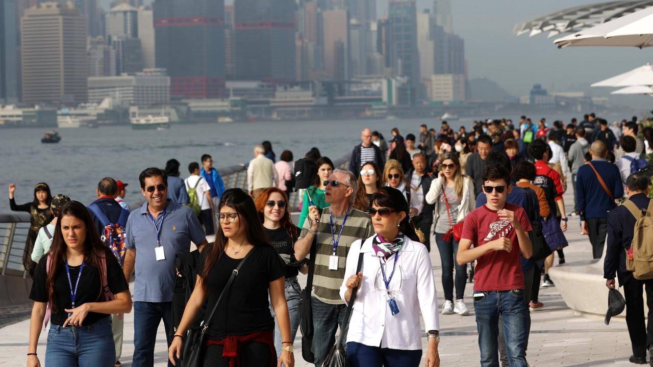 Slowdown forecast for Hong Kong tourism as US-China trade war hits mainland