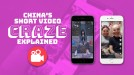 From Douyin to Kuaishou: A visual look at China's hottest short video apps