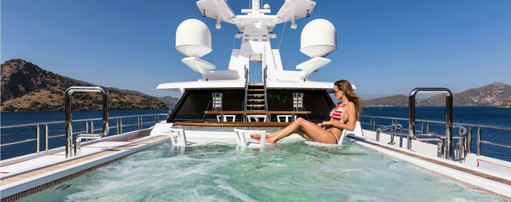 A look inside 10 of the most luxurious superyachts on sale at Miami's premier yacht show
