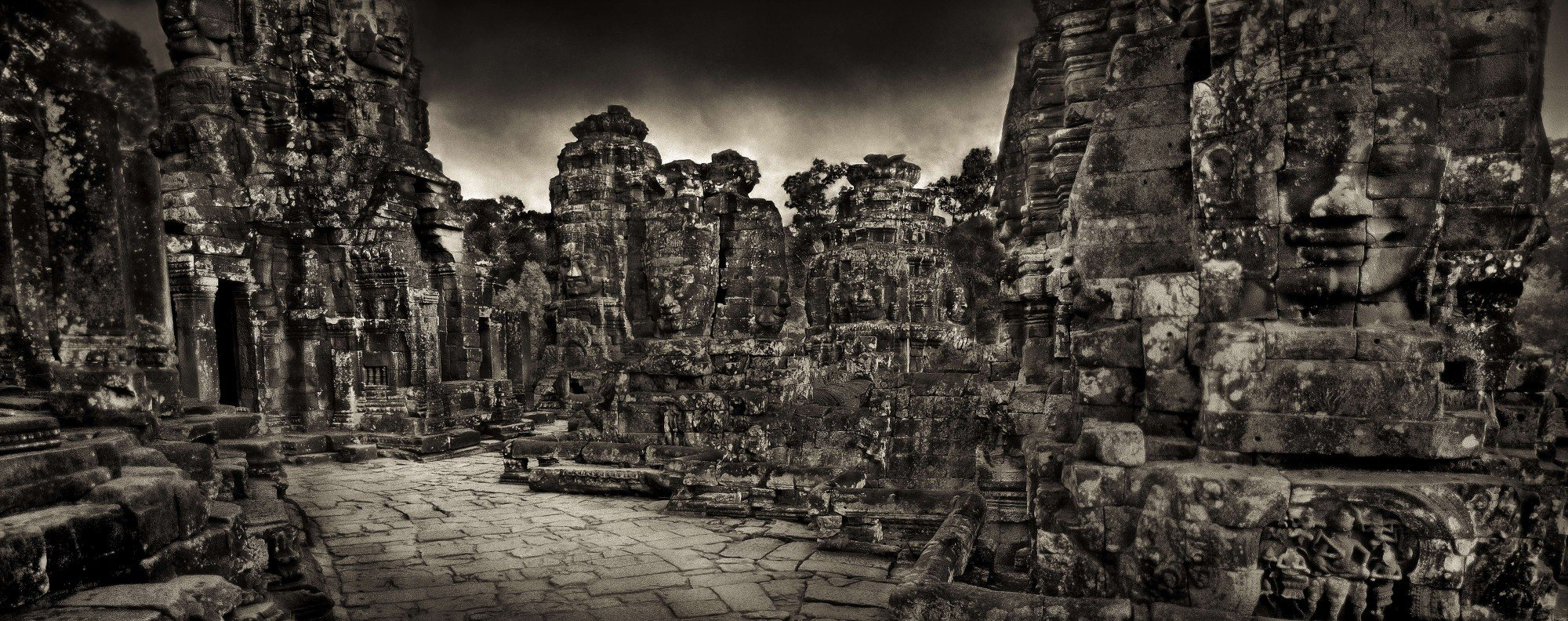 The Bayon Terrace. Photo: John W. McDermott