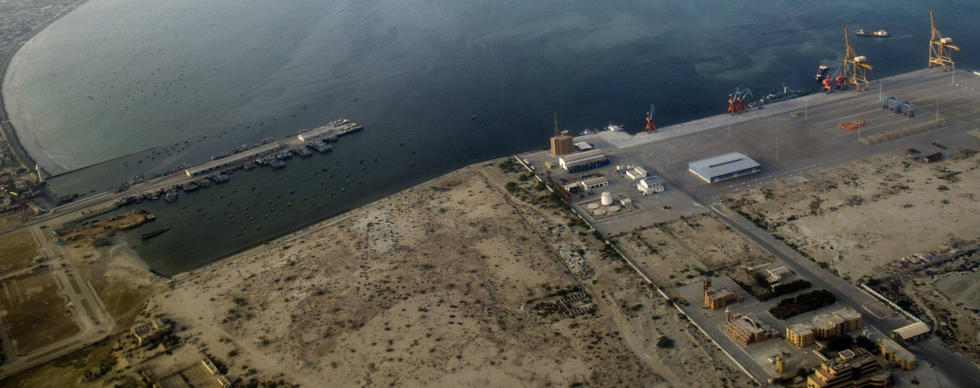 Gwadar Port, Pakistan.