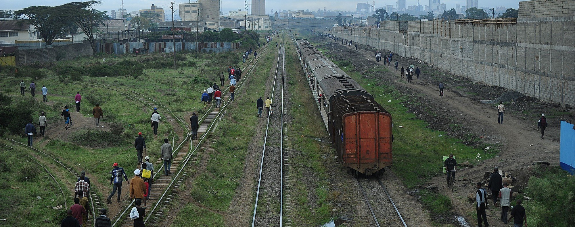 Kenya Road Sign >> The Lunatic Express: how Kenya's colonial railway compares to new China-built line | Post ...