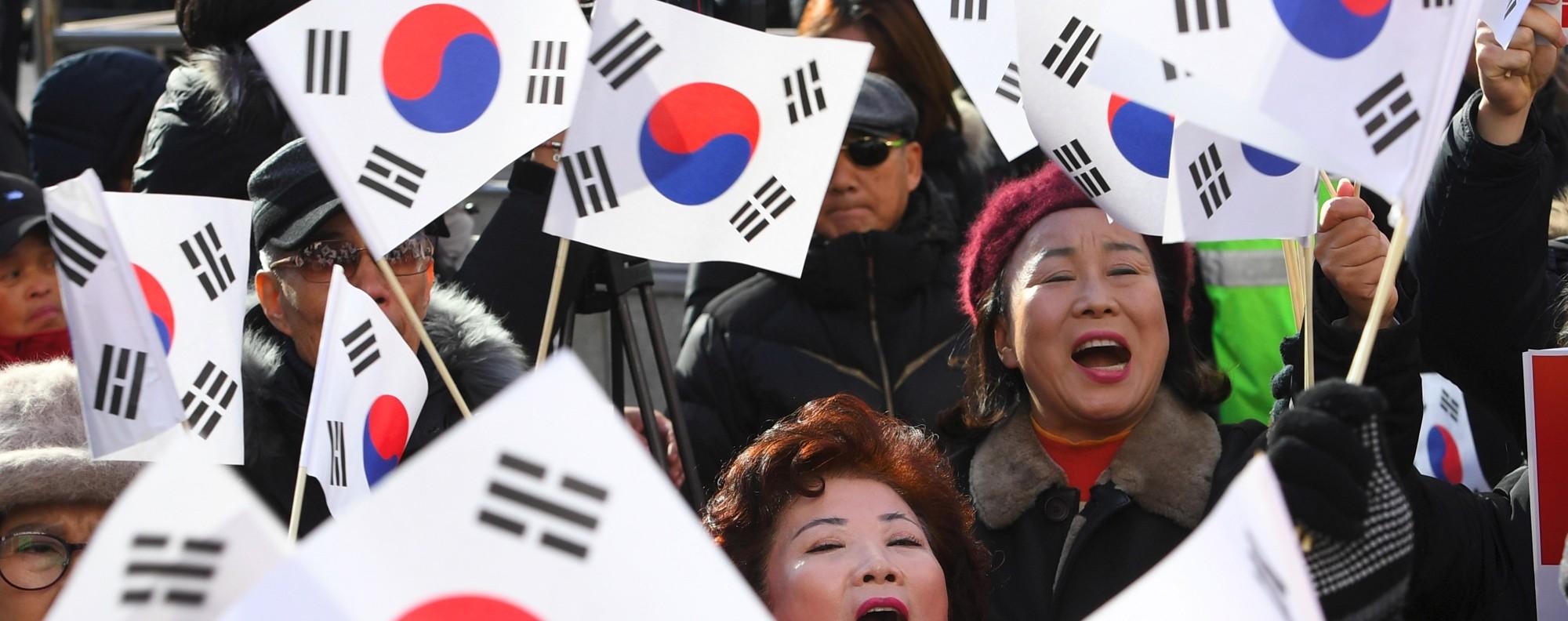 Ethnic Koreans constitute 96 per cent of the population. Photo: AFP