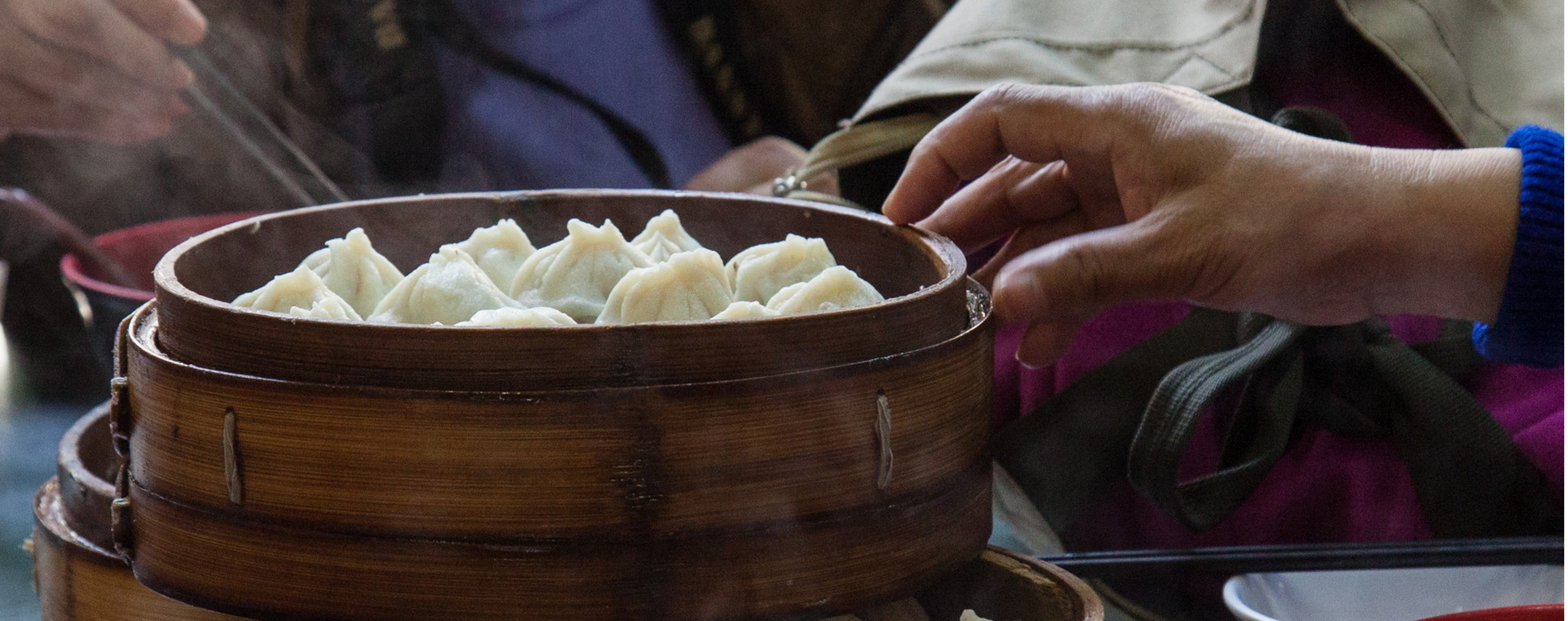 Xiaolongbao at Guyi Garden in Shanghai. Picture: Valerie Teh