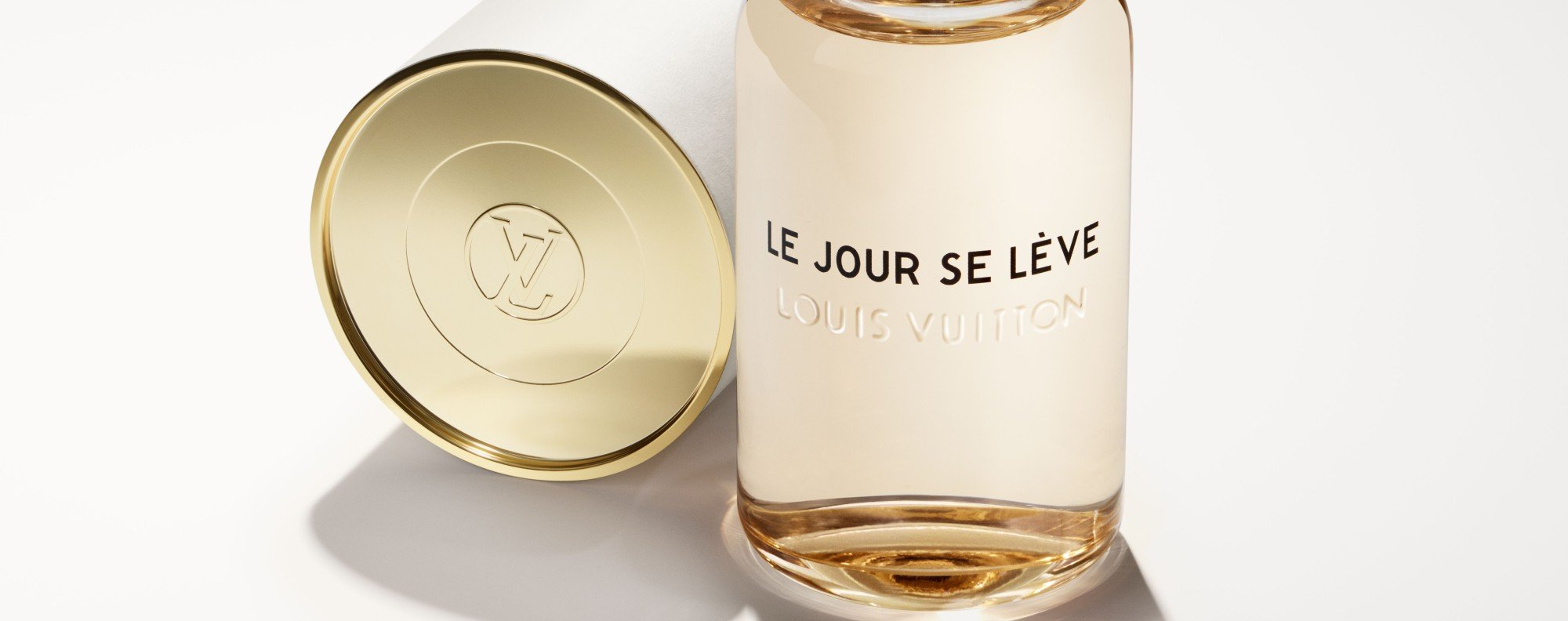 The new Louis Vuitton fragrance, Le Jour se Lève, goes on sale from March 15.