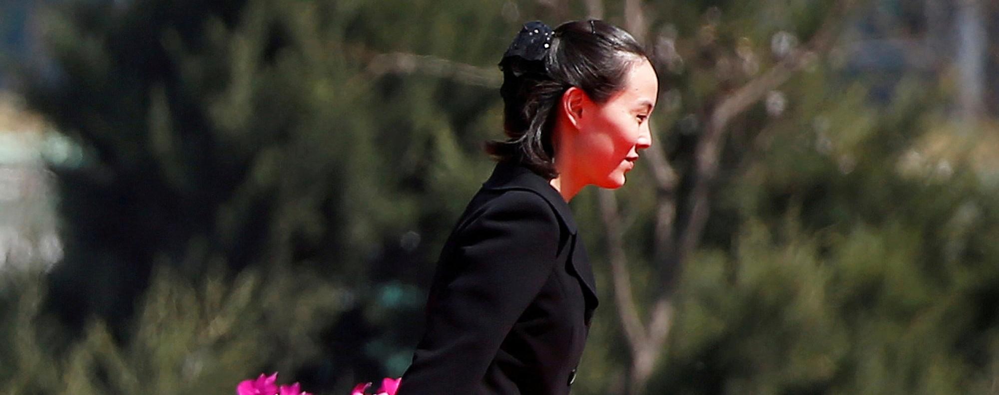 Kim Yo-jong. Photo: Reuters