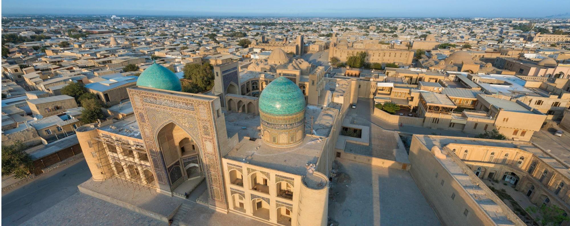 The historic centre of Bukhara, Uzbekistan. Picture: Alamy