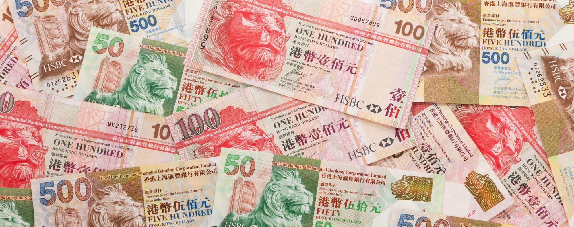 Hong Kong Dollars. Photo: Alamy
