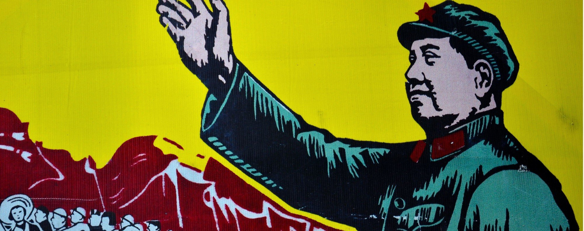 Mao Zedong: Great Helmsman. Photo: Shutterstock