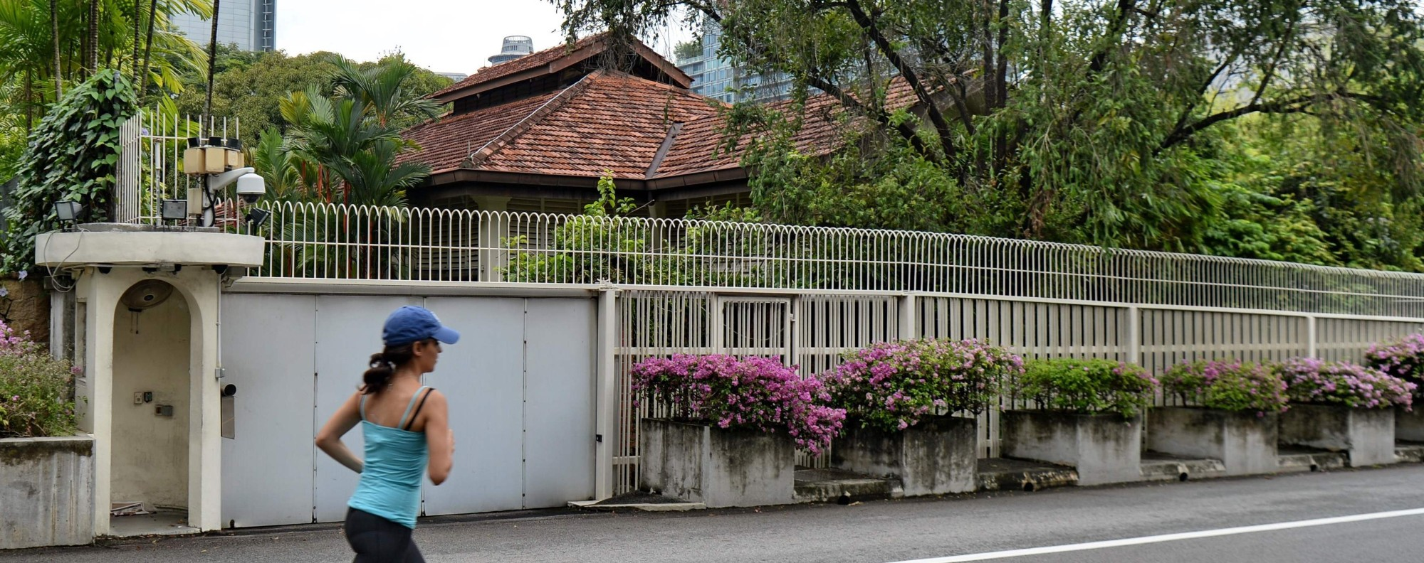 The house of Lee Kuan Yew at 38 Oxley Road in Singapore. Photo: AFP