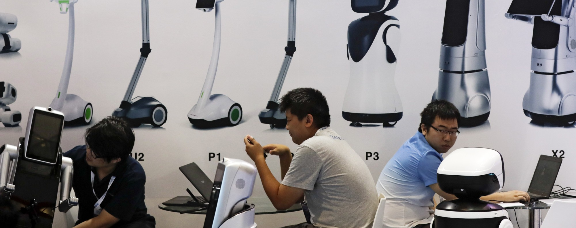 The World Robot Conference in Beijing. China Photo: AP